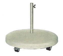 beton schirmst nder mit rollen 75 kg sonnenschirmsockel. Black Bedroom Furniture Sets. Home Design Ideas